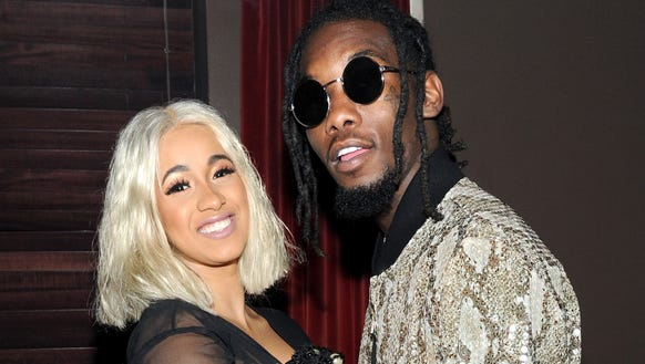 Cardi B and Offset in September 2017.