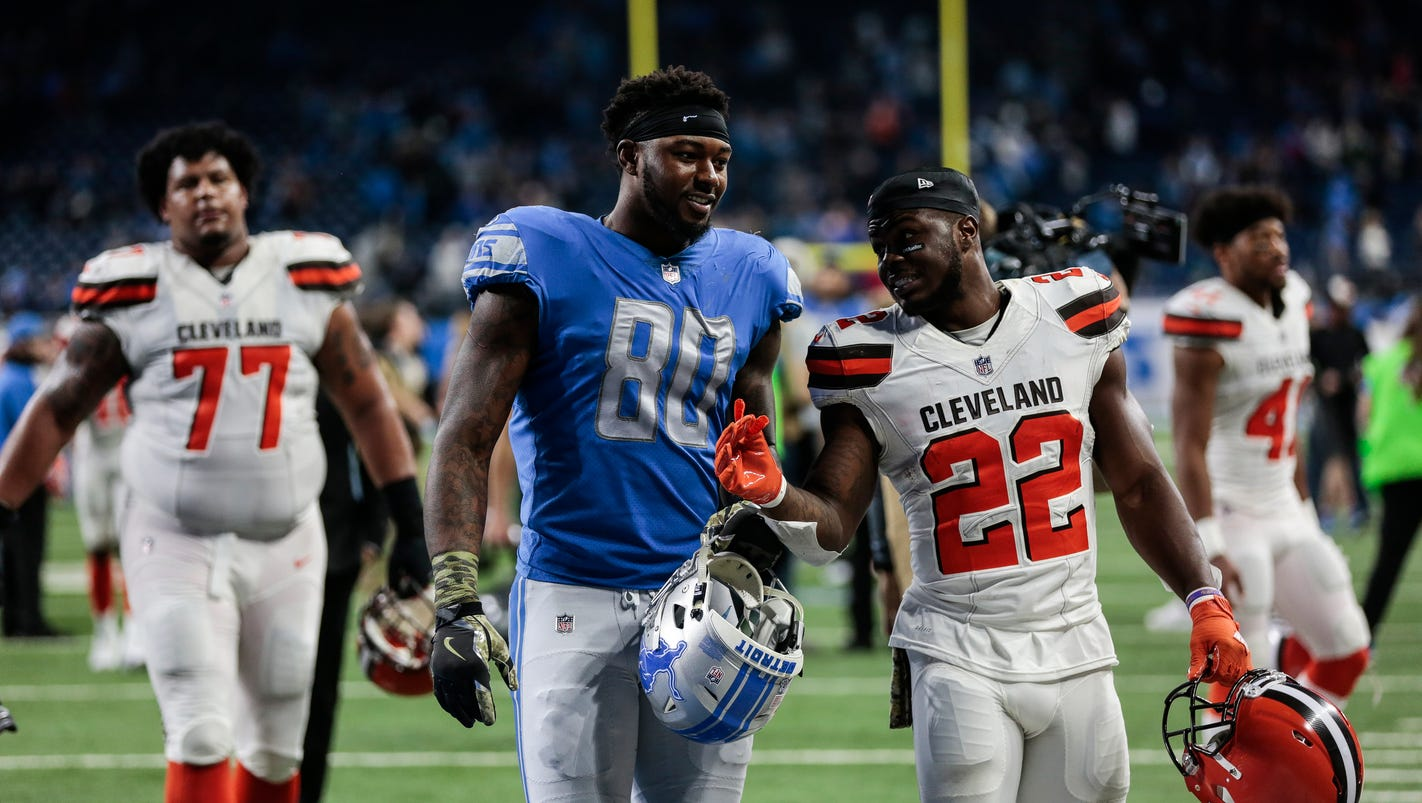 Detroit Lions TE Michael Roberts wants expanded role in 2018