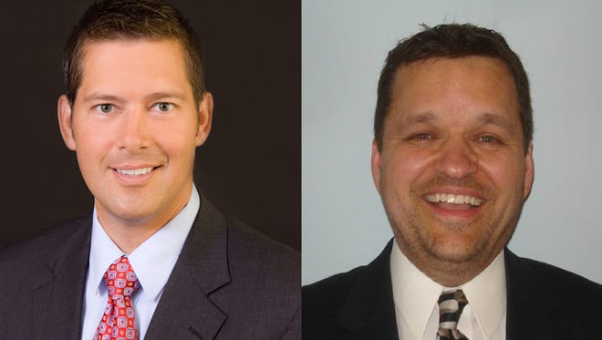 Rep. Sean Duffy and Donald Raihala will compete in a Republican primary on Aug. 9, 2016.