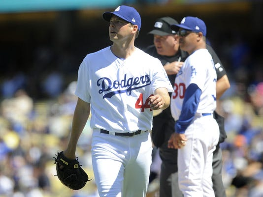 USP MLB: ARIZONA DIAMONDBACKS AT LOS ANGELES DODGE S BBN LAD ARI USA CA