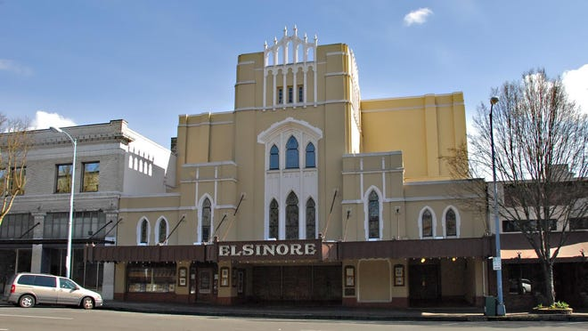 The Historic Elsinore Theatre shown here in 2007.