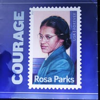 Parks' courageous actions sparked the Montgomery Bus Boycott.