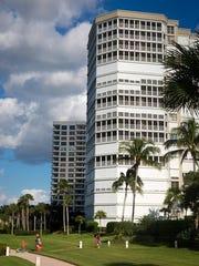 Monaco Beach Club Condominiums are seen on Wednesday,