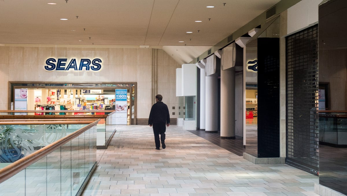 The second floor Sears wing of Knoxville Center Mall will be blocked off for medical offices.