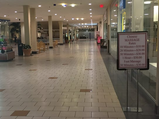 The former Echelon Mall at Voorhees Town Center could