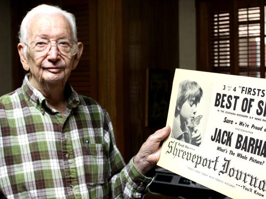 Jack Barham spent decades at the Shreveport Journal
