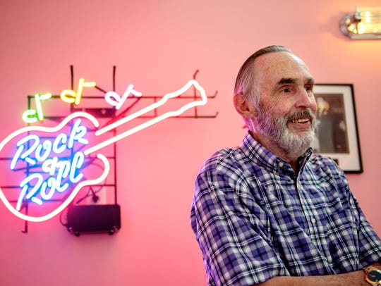 Dave Sheets talks about his pink party room in his