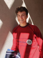 Eric Martinez, a senior from Ventura High, has been interested in politics for a long time. This year, he became involved with  the March for Our Lives and National School Walkout movements, both of which started just days after a gunman strode into Marjory Stoneman Douglas High School in Parkland, Fla., and killed 13 students and four faculty members.