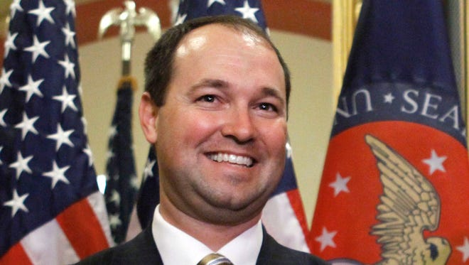 Rep. Marlin Stutzman, R-Ind., is seeking the Republican nomination for the U.S. Senate seat being vacated by Sen. Dan Coats.