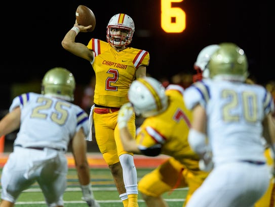 Scottsdale Chaparral quarterback Jack Miller is ranked as the nation's No. 1 quarterback in the 2020 class in the 247Sports composite rankings.