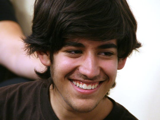 Aaron Swartz, pictured here in 2006, was a renowned computer programmer who committed suicide while facing a federal trial for hacking into MIT's network to download millions of academic articles.
