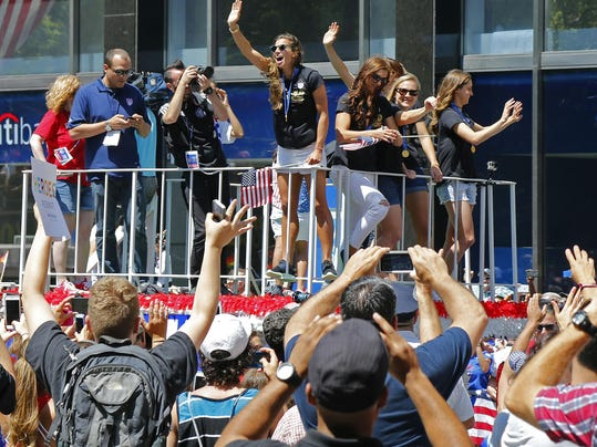 Soccer: Women's World Cup Champions USA