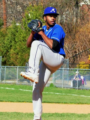 Montclair High School senior pitcher/2B and four-year starter Makhi Booker returns to the Mounties rotation. The Post University commit is expected to be Montclair's primary pitcher this spring.