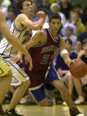 Former Spaulding star David Ball in action during his