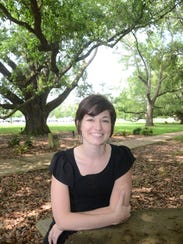 Leigh Guidry is a young mother who covers Louisiana