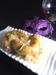 Boudin and braised cabbage