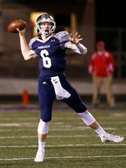 Before going to Michigan State, Brian Lewerke was a standout quarterback at Pinnacle High.