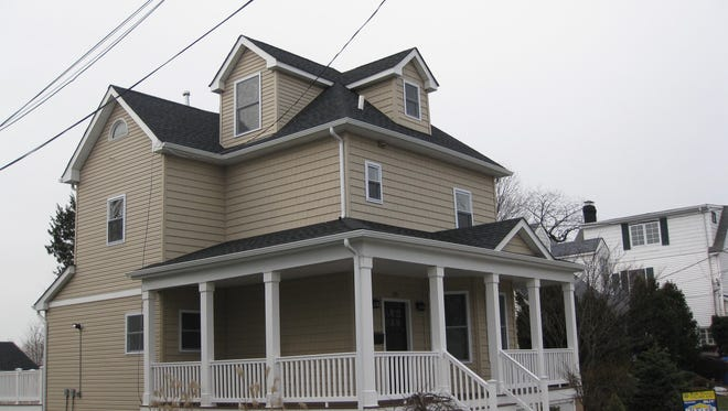 This completely renovated two-story home at 124 Woodbridge Ave. will be open from 1 to 4 Sunday, Jan. 8.
