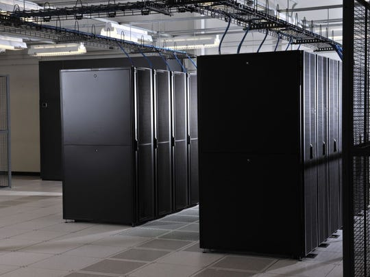 This image shows part of the interior of LightEdge Solution's Altoona data center.