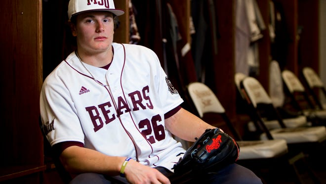 Missouri State center fielder Tate Matheny is looking to help lead the Bears back to the NCAA Tournament for the first time since 2012.