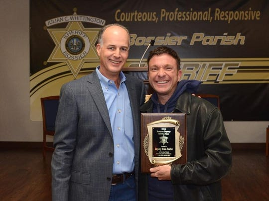 Deputy Brian Fowler was named Reserve Deputy of the Year.