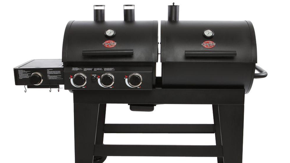 While gas and electric grills have their advantages, a charcoal grill is the only one that will deliver a classic flame-broiled flavor. It's budget-friendly and packs in that classic smoky flavor. Grilling with charcoal does take a bit more effort, but avid grillers say it's worth the time to add that deep, smoky essence to hamburgers, steaks.