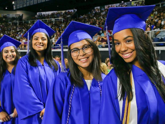 La Vergne High held its 2017 graduation ceremony Saturday, May 20 at MTSU's Murphy Center.