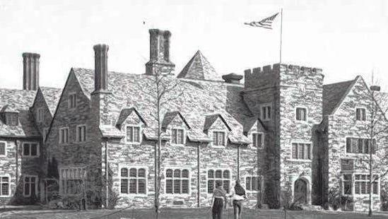 St. Andrew's School in 1936.