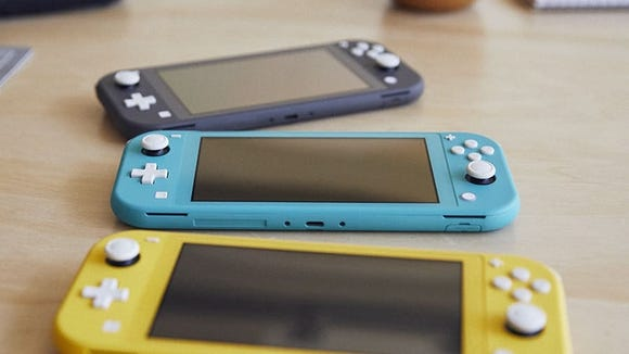 Best gifts for wives 2020: Nintendo Switch Lite.