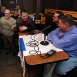 Wrestling fans chat with Asbury Park Press