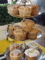 Sugar Jam Muffin Tower
