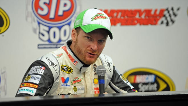 Dale Earnhardt Jr. said Friday at Martinsville Speedway that he has been in the middle of trackside medical controversies before.