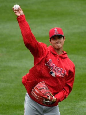 Shohei Ohtani is making batters swing and miss at a dizzying rate.