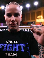 Bec Rawlings, mother of two, elicited loud and slightly