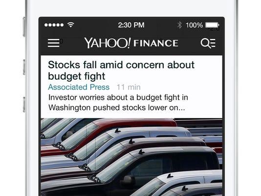 Yahoo overhauls Yahoo Finance for iOS, web