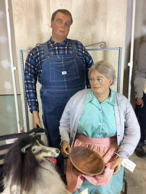 Former residents of the Lancaster County Wax Museum, 40 wax figures of Amish men, women, children and a dog are on sale on Craigslist.