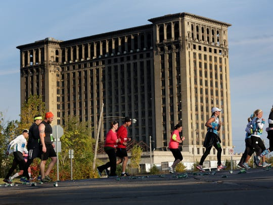 Detroit Mayor Mike Duggan is expected to announce a plan to make improvements at Michigan Central Station on Wednesday, April 29, 2015.
