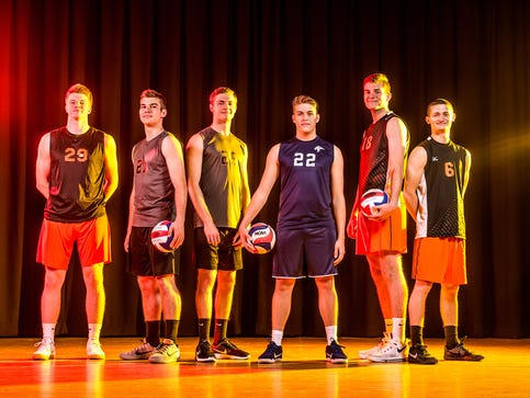 GameTimePA YAIAA boys' volleyball All-Stars 2017