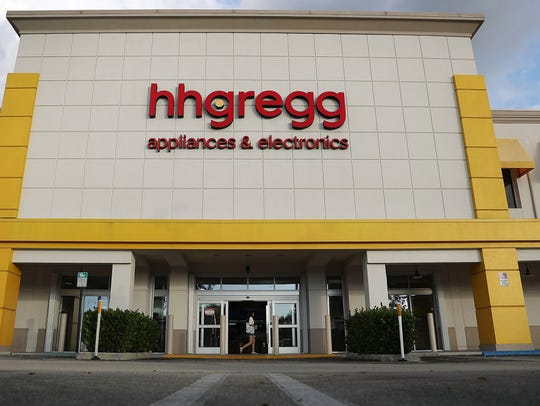 HHGregg electronic and appliance chain announced plans