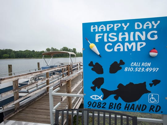 Happy Days Fishing Camp in Columbus hosts groups of