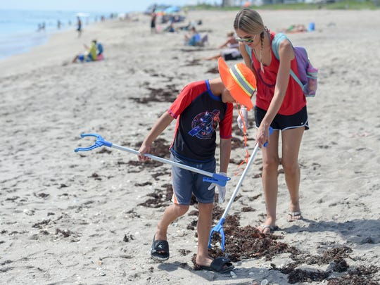 The Beach Cleanup with the Surfrider Foundation Treasure Coast Chapter is 6-8 p.m. Friday at Jensen Beach, or Sea Turtle Beach, 4191 N.E. Ocean Blvd.