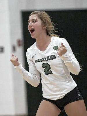 Kaci Roush, a junior libero, is among the top returnees for the Westland girls volleyball team and fourth-year coach Nicole Zumpano.