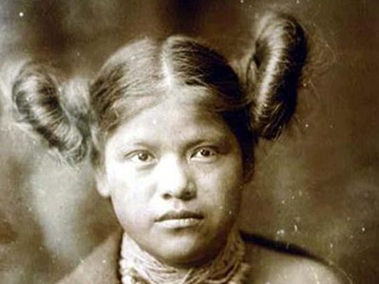 An historical Hopi Indian hairstyle that's said to have inspired Princess Leia's iconic cinnamon-bun hairdo.