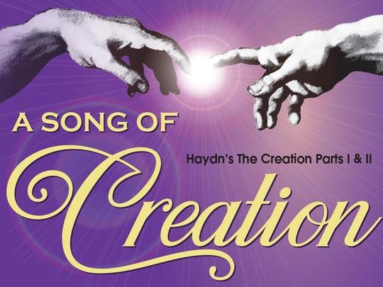 'A Song of Creation' concert logo