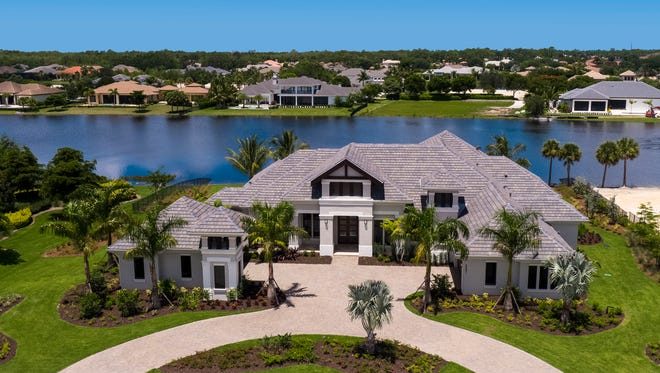 The Sophia II, with its lakefront homesite, has more than 8,100 total square feet and is priced at $3,974,990, fully furnished.