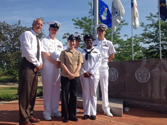 USS Mason visits namesake city