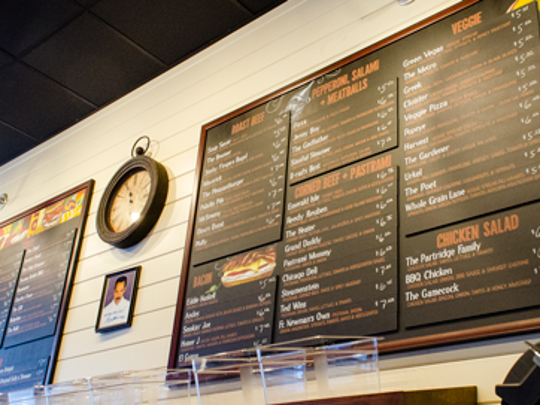 Sully's Steamers menu is large and for all tastes.