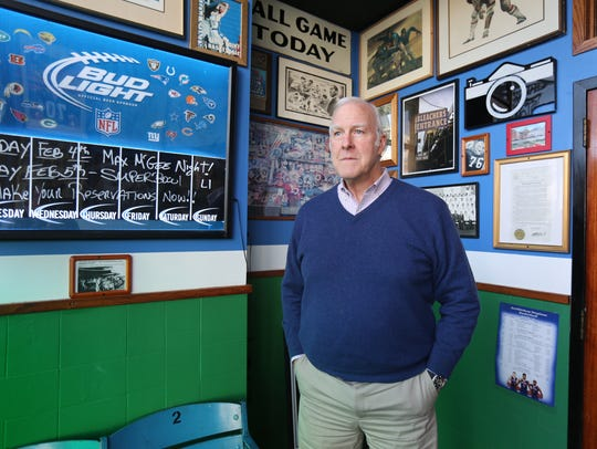 Bob Hyland, the owner of Bob Hyland's Sports Page in