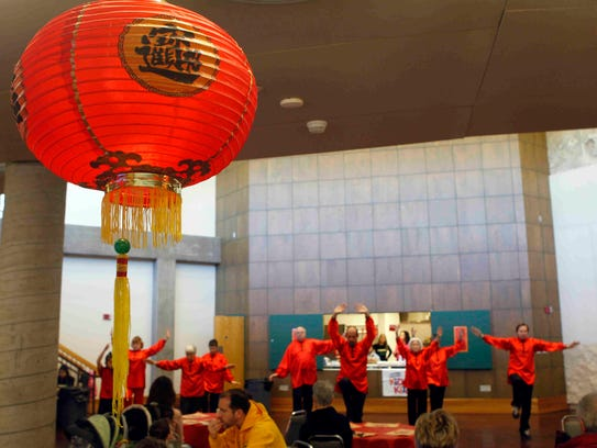 Concho Tai Chi will perform during this weekend's Family
