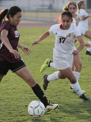 The Coachella Valley varsity soccer team won Thursday's home playoff game against University Prep (Victorville, CA) by a score of 4-1.